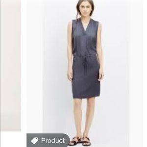 VINCE. Gunmetal Grey Dress Fall Small